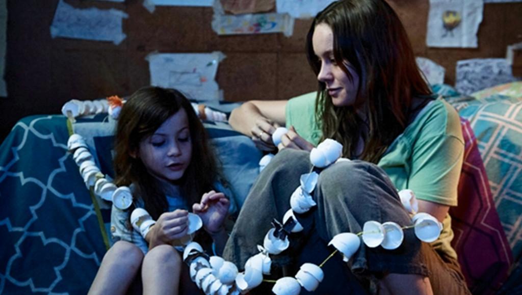 Brie Larson y el talentosísimo Jacob Tremblay.