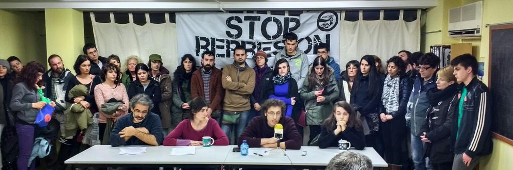 La Junta de Personal y el Comité Intercentros de la Universidad exigen la retirada de la sanción a la manifestante oscense