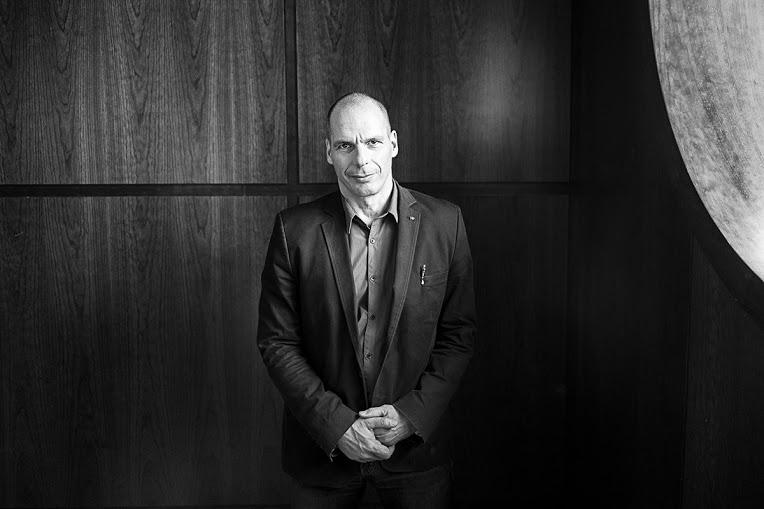 Yanis Varoufakis. Foto: Álvaro Minguito (Diagonal)