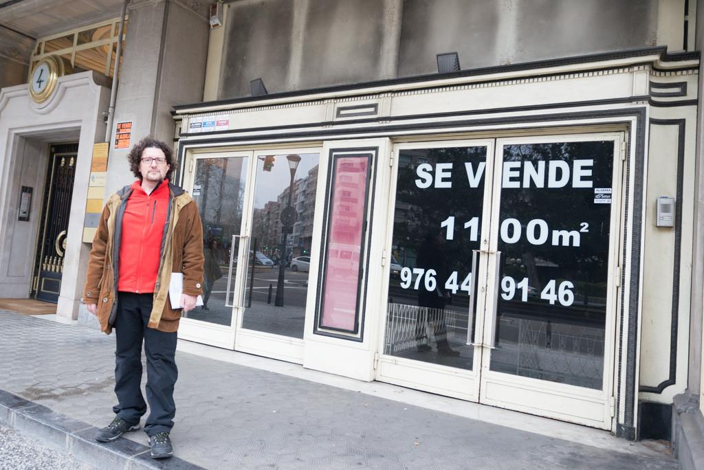 Una Asociación quiere salvar el Cinema Eliseos para convertirlo en punto de encuentro cultural para Zaragoza