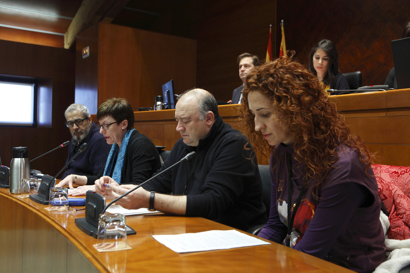 """El comité de AUZSA pide al Gobierno de Aragón que """"no mire para otro lado"""" ante el conflicto laboral"""