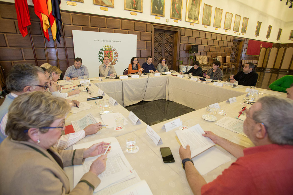 El grupo de trabajo sobre el Reglamento de Participación Ciudadana de Zaragoza se reúne por primera vez