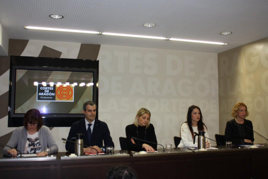 PSOE, Podemos, C's, CHA e IU solicitan conjuntamente el cese de Gustavo Alcalde