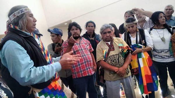 Pueblos originarios de Argentina acampan por sus derechos en Buenos Aires