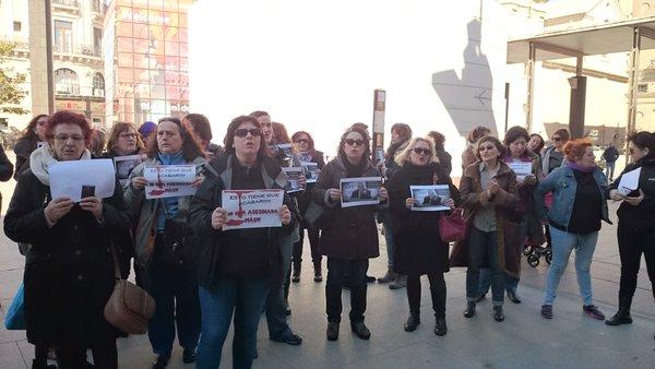 La Coordinadora de Organizaciones Feministas registra la petición de cese de Gustavo Alcalde