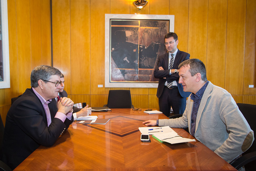 Primera reunión entre el Gobierno de Aragón y el Ayuntamiento de Zaragoza para impulsar la Ley de Capitalidad