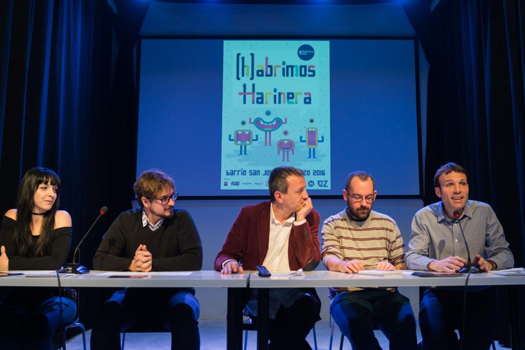 'Harinera', un espacio para la cultura comunitaria en Zaragoza