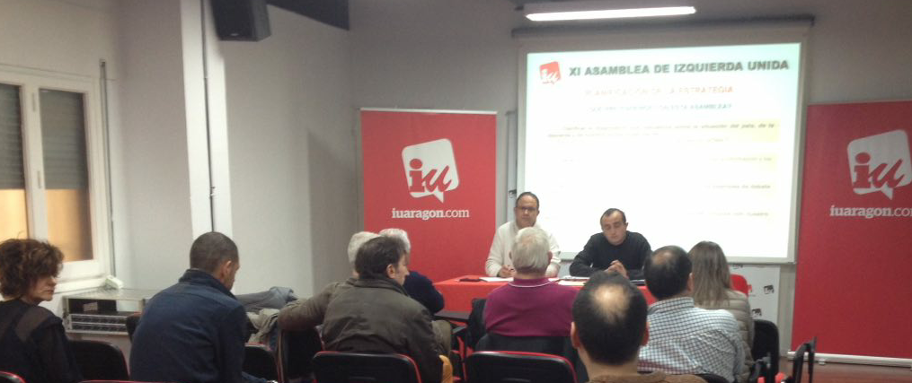 """IU acuerda sus prioridades para """"Acuerdo de Estabilidad y Gobernabilidad de la Ciudad de Zaragoza"""""""