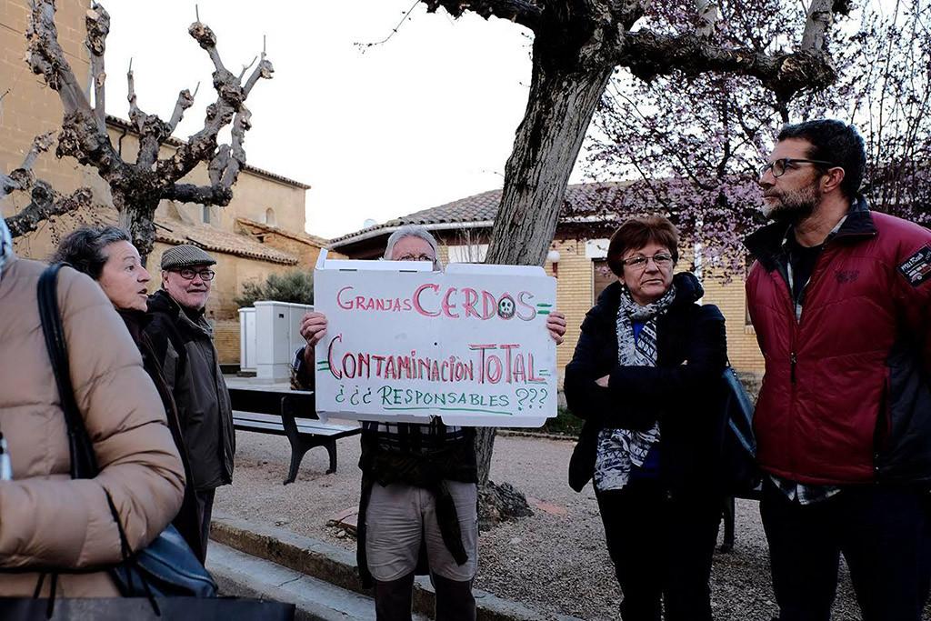 """El BOA incluye como """"zonas vulnerables"""" a la contaminación todas las parcelas agrícolas pertenecientes a Loporzano"""