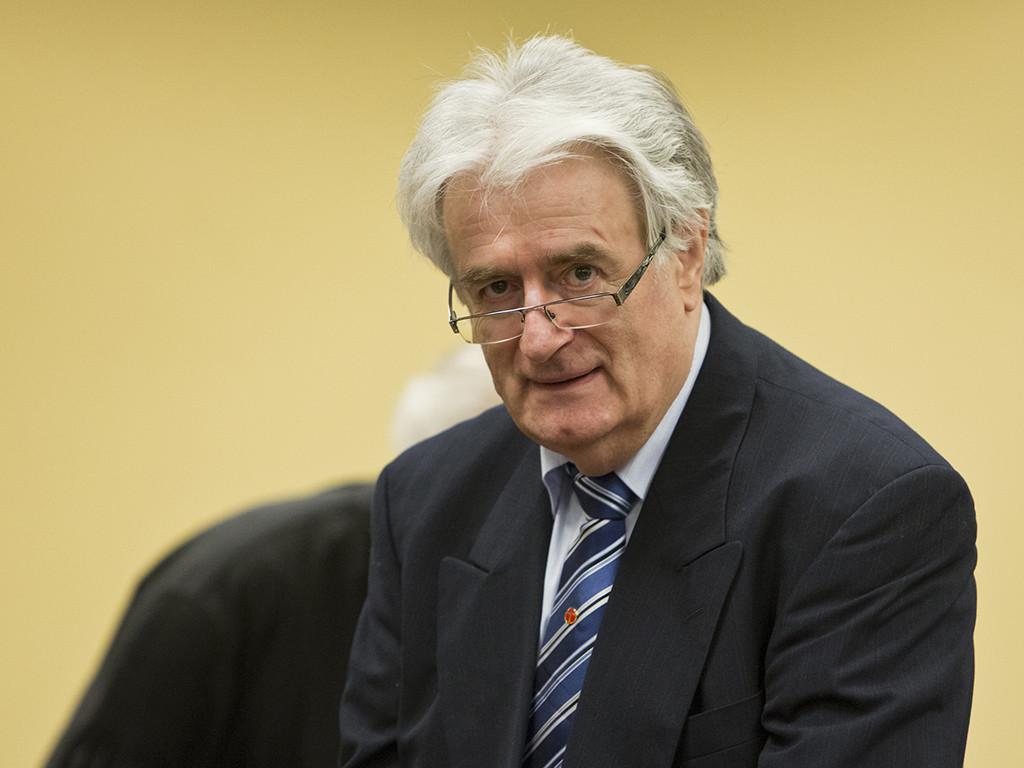 El exlíder serbobosnio Radovan Karadžić condenado por genocidio y crímenes de guerra