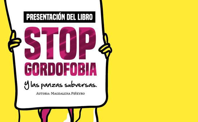 Presentación del libro 'Stop Gordofobia'