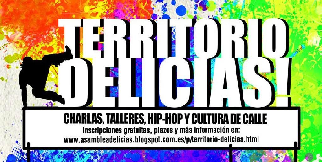 Reflexiones y cultura de la calle en 'Territorio Delicias'
