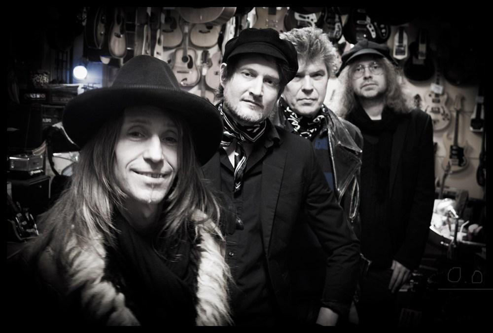 The Black Weeds, rock and roll de la escuela sueca, esta noche en La Ley Seca
