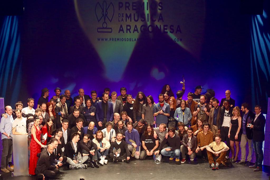 El recuerdo de Rafa Angulo y Arrebato protagonistas en los XVII Premios de la Música Aragonesa