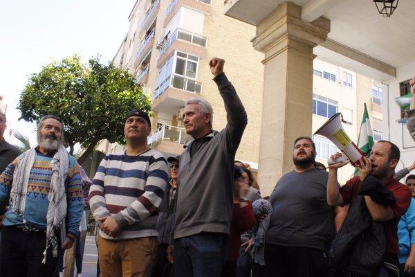 Detenido y encarcelado el activista del SAT, Andrés Bódalo