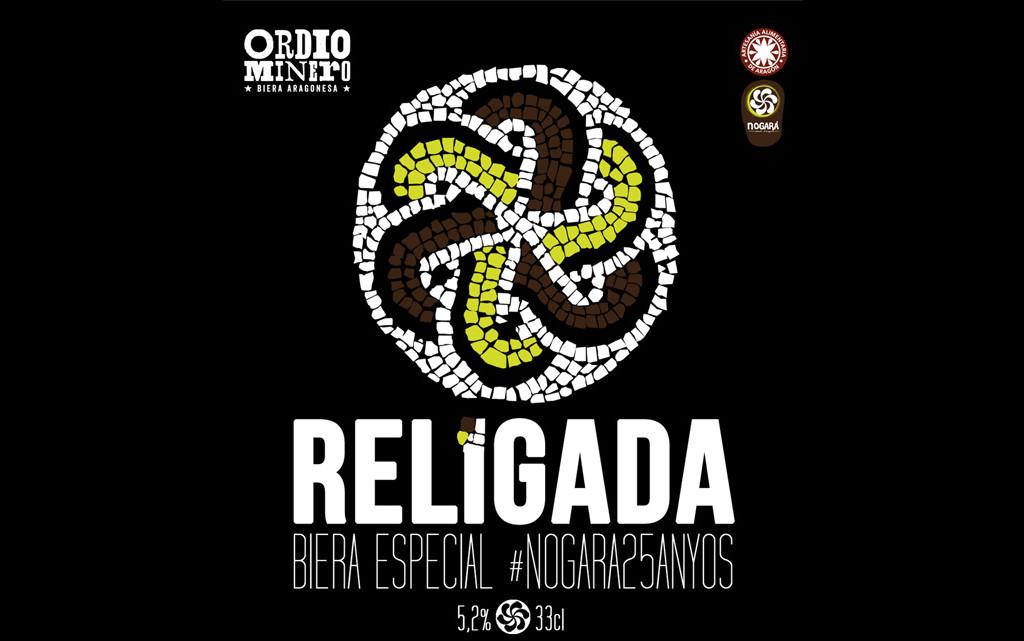 Nogará presenta, con motivo de su 25 aniversario, la cerveza Religada, creada especialmente para esta ocasión