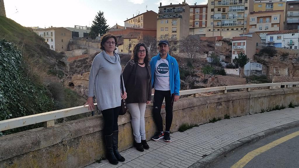Ganar pide mejoras en la seguridad peatonal de los puentes de Teruel