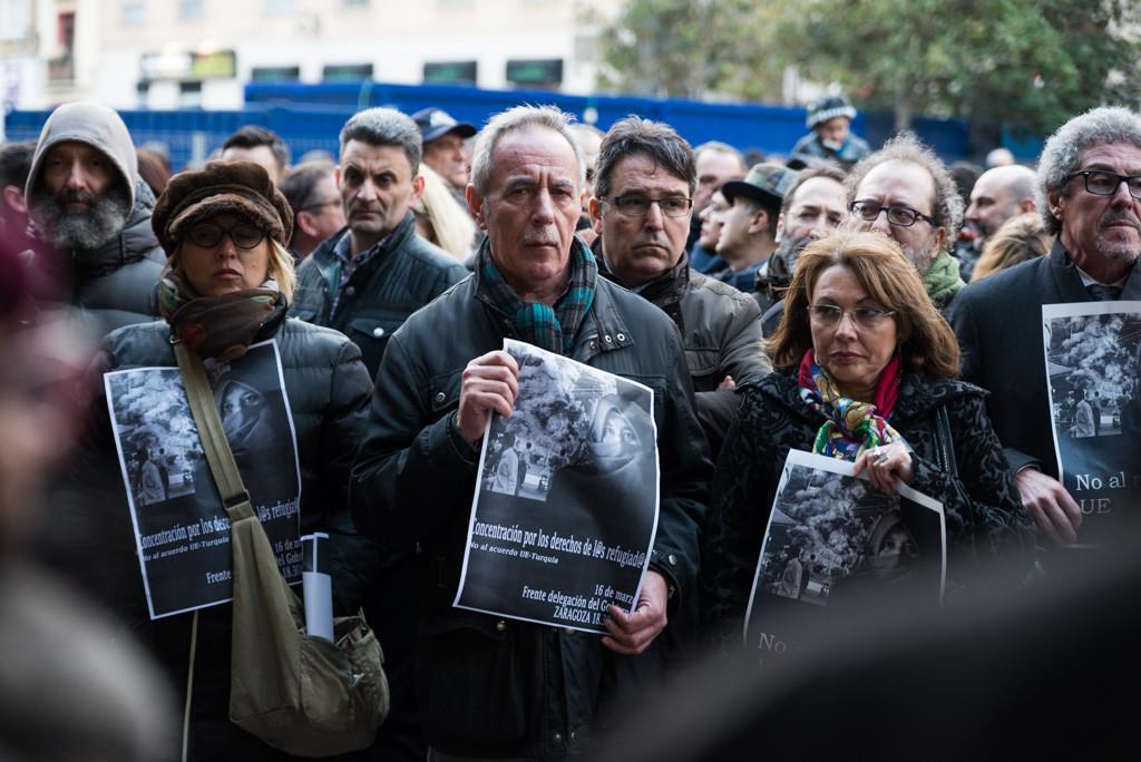 Aragón muestra su apoyo a las personas refugiadas con cuatro concentraciones