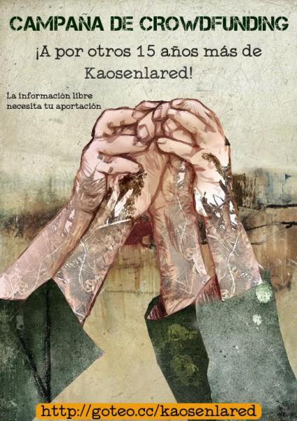 kaosenlared crowdfunding marzo 2016
