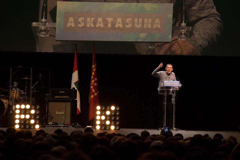 """Otegi fija las bases para """"construir un proyecto independentista decente"""""""