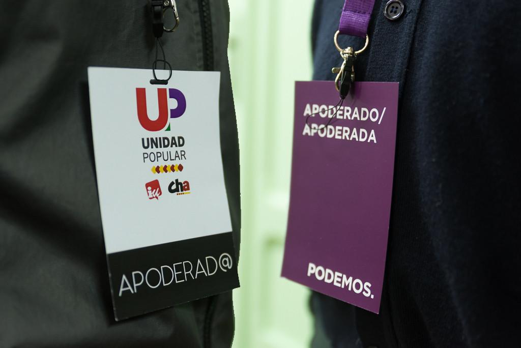 Podemos Aragón envía una propuesta de confluencias a Izquierda Unida
