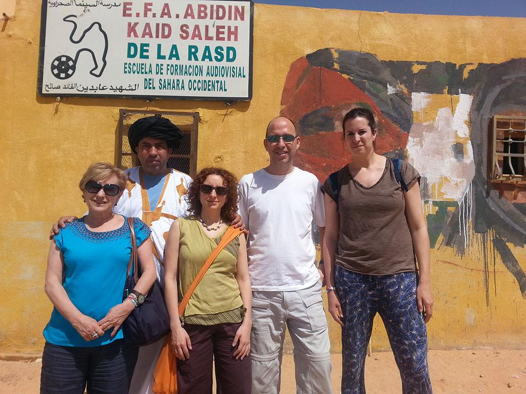 Concejales de Zaragoza viven de cerca la realidad de los campamentos de refugiados saharauis en Tindouf