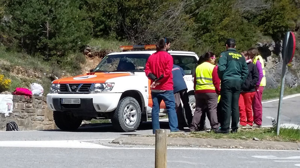 Grupos de rescate. Foto: Timu