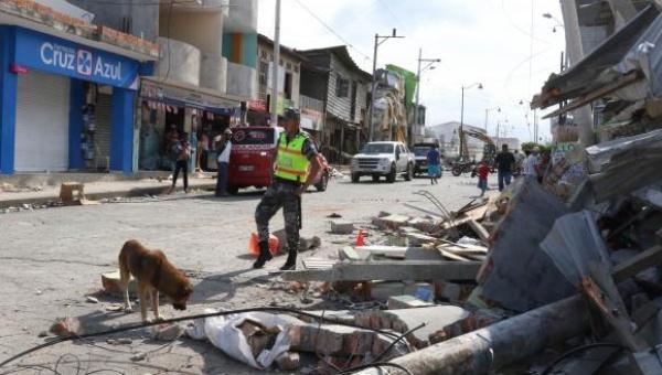 La costa norte de Ecuador sufre un nuevo terremoto de 6,3 grados