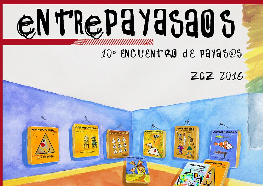Zaragoza acoge la X edición del Entrepayasaos
