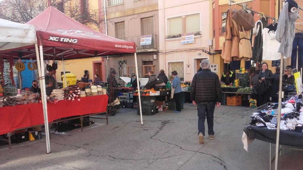 CHA propone cambiar la ubicación del mercadillo del Segoñé a la explanada de El Sotet