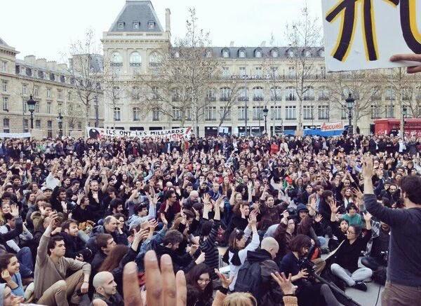 La Nuit Debout, de París al resto del país
