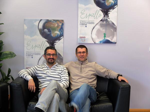 Javier Vispe y Juan Carlos Somolinos. Foto: Espiello