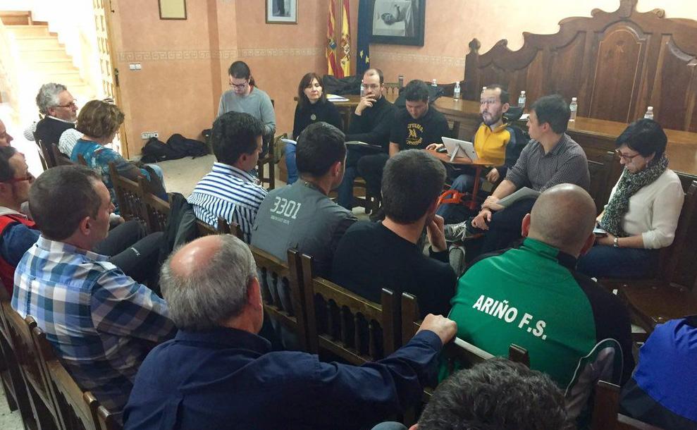 Echenique considera prioritario mantener los puestos de trabajo de la Minería en Teruel