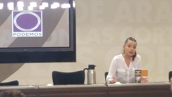 """Maru Díaz: """"El caso del Yak–42 no hubiera ocurrido en un país democrático de verdad"""""""