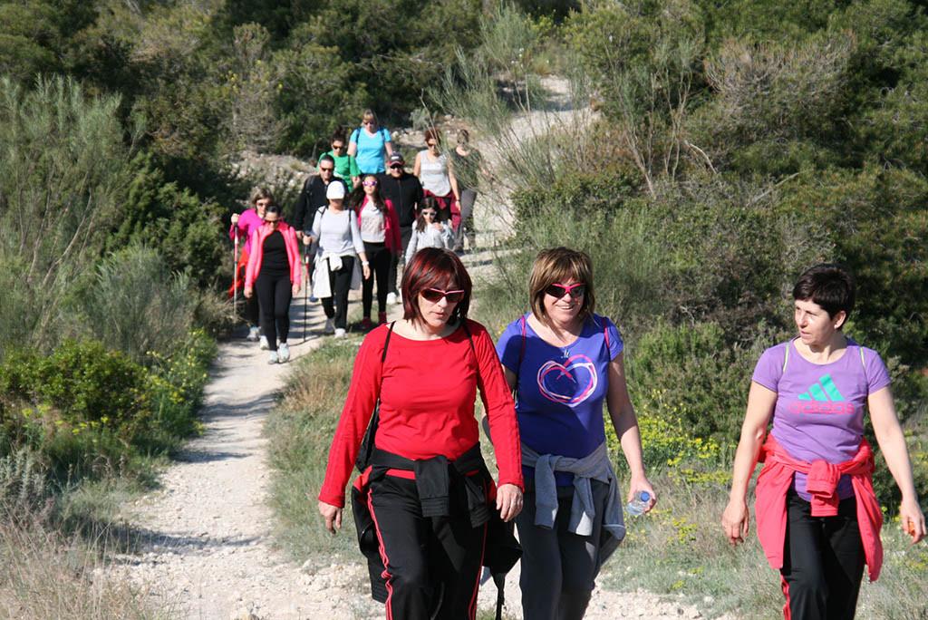 La X Marcha Senderista Villa de Mequinensa echará a andar el domingo