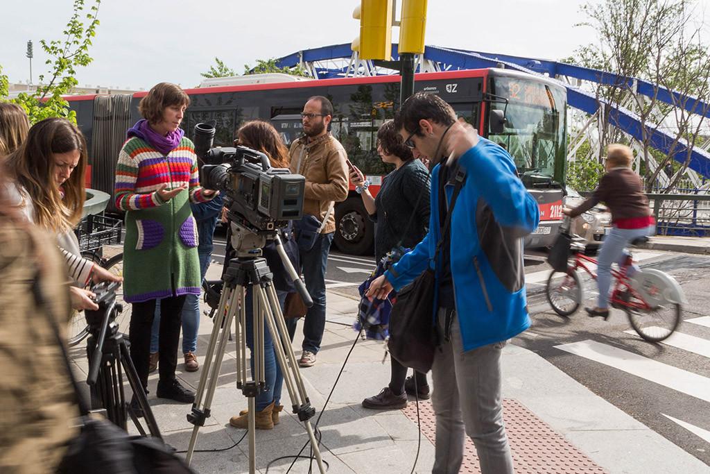 """Teresa Artigas: """"Queremos que Zaragoza llegue a ser la capital ciclista del Sur de Europa"""""""