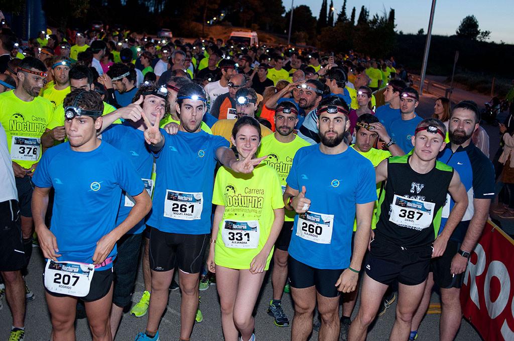 La III Carrera Nocturna de Uesca aspira a superar las 500 personas participantes del año pasado