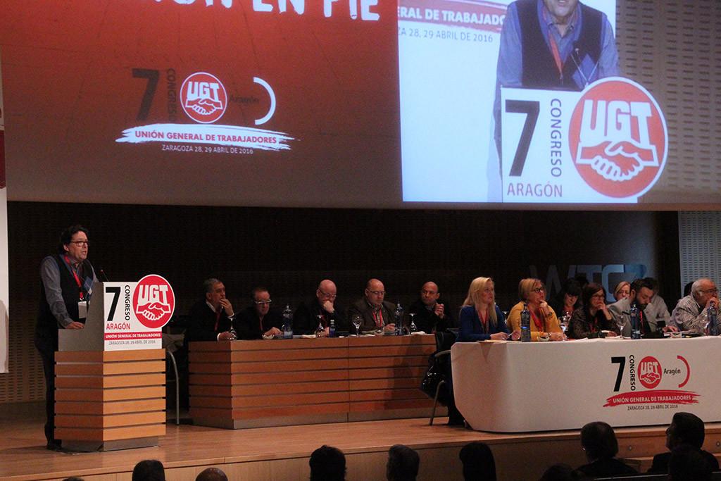 Daniel Alastuey, reelegido secretario general de UGT Aragón