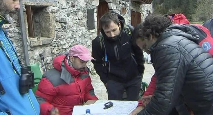 Se intensifica la búsqueda del montañero desaparecido y se abre una cuenta solidaria