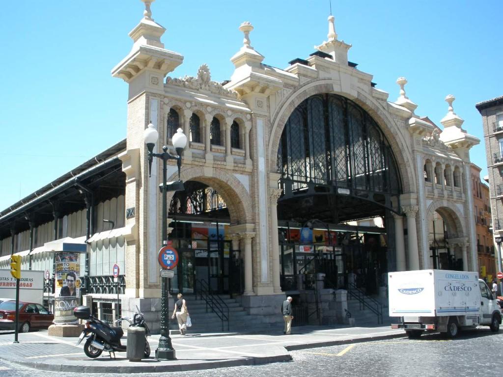 El Gobierno de Zaragoza licita las obras de la rehabilitación del Mercado Central