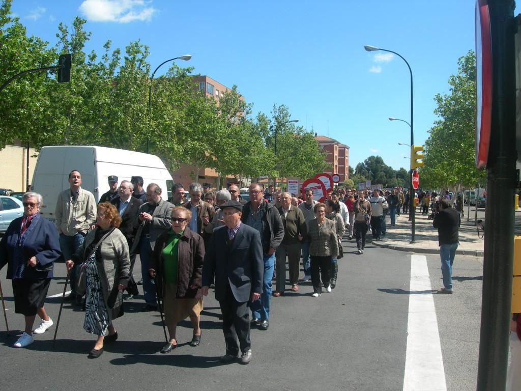 Acuerdo para mejorar un tramo de la Avenida de Cataluña de Zaragoza