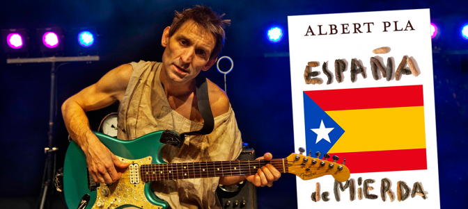"""Albert Pla presenta en La Pantera Rossa, su libro """"España de mierda"""""""