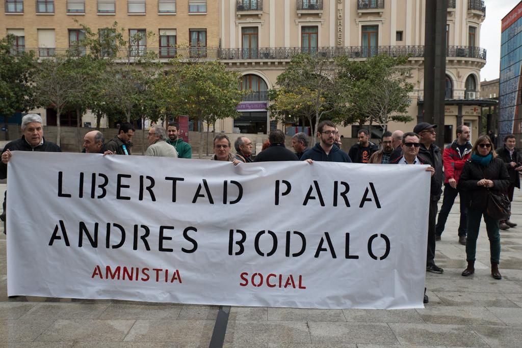 El premio Nobel de la Paz, Pérez Esquivel, intercede por la concesión del indulto a Andrés Bódalo