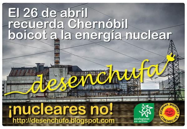 Cartel de la campaña de Ecologistas en Acción.