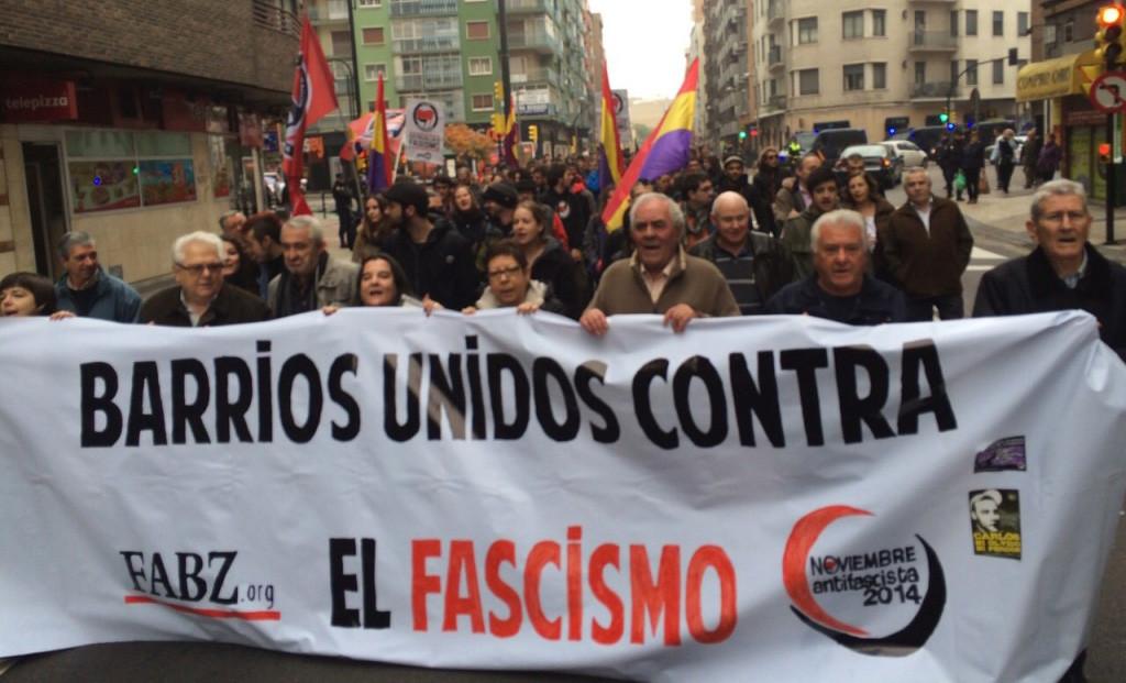 Todo preparado para que comiencen las Jornadas de Noviembre Antifaixista 2016