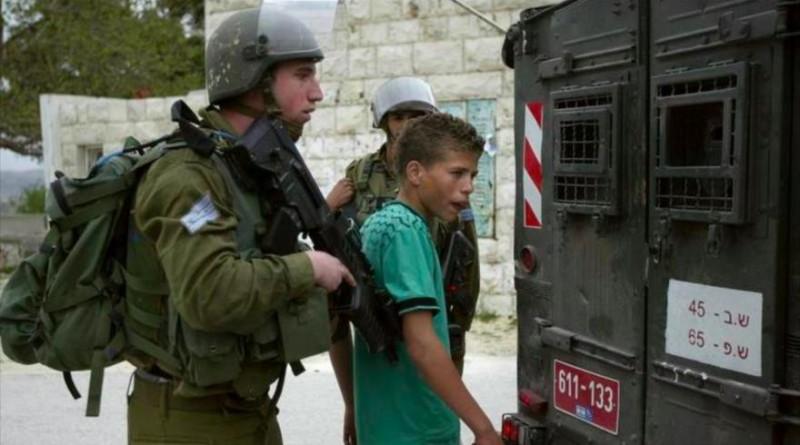 438 menores palestinos siguen presos en cárceles israelíes