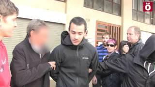 La Policía española detiene en Nafarroa a ocho personas acusadas de injurias a la Guardia Civil
