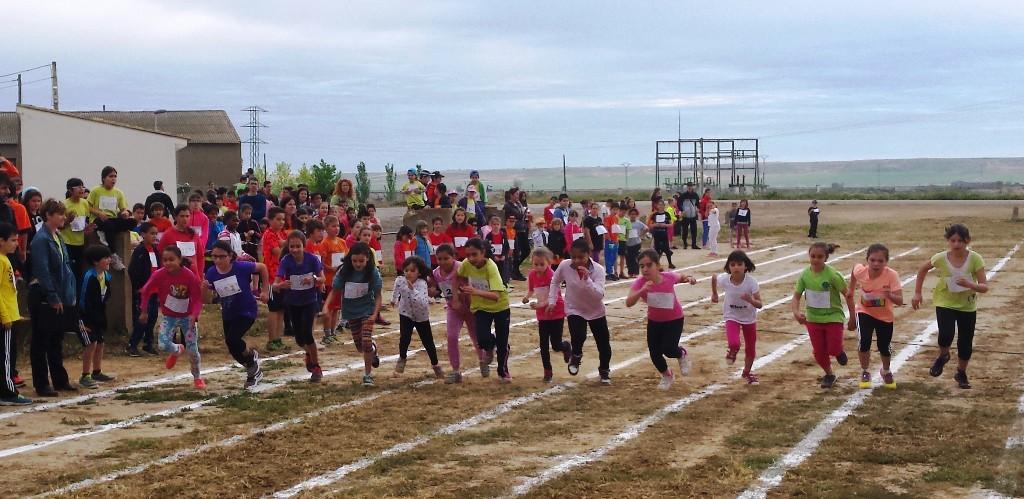 Candasnos acoge sus XXV Jornadas de Atletismo Escolar