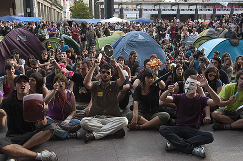 El Movimiento 15M celebra su quinto aniversario