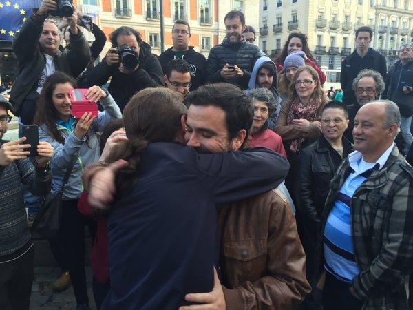 Las bases de Podemos e IU reafirman mayoritariamente la coalición para el 26J